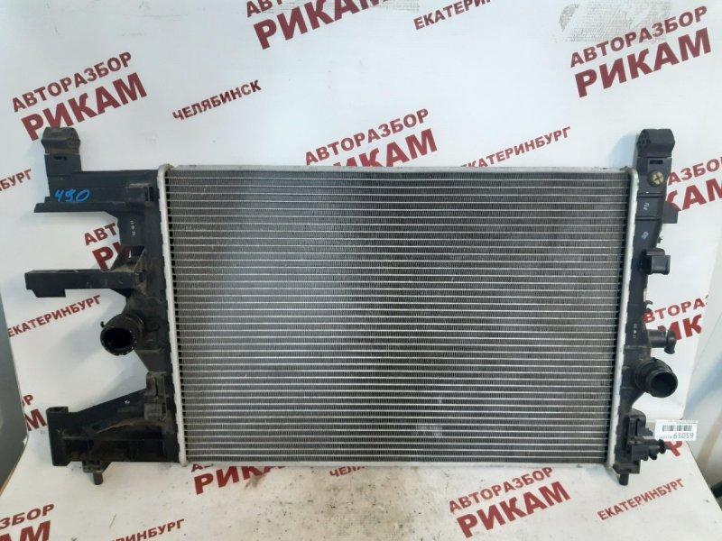 Радиатор охлаждения Opel Astra J P10 A16LET 2013