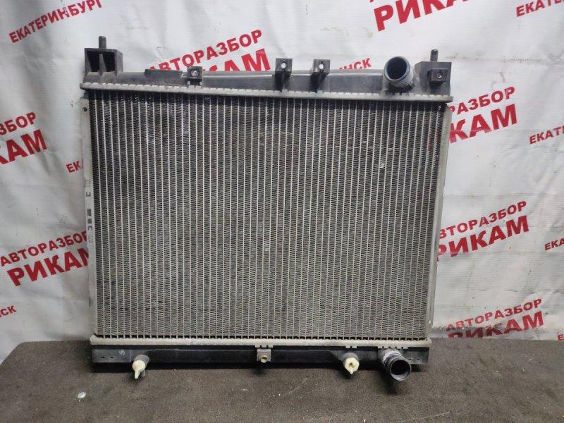 Радиатор охлаждения Toyota Vitz NCP10 1NZ-FE