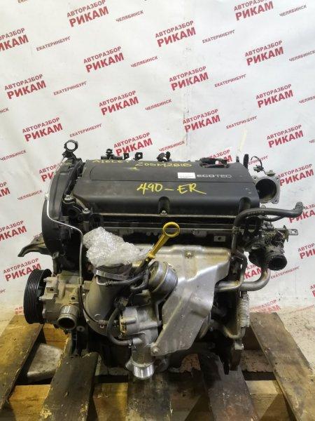 Двигатель Opel Astra J P10 A16LET 2013