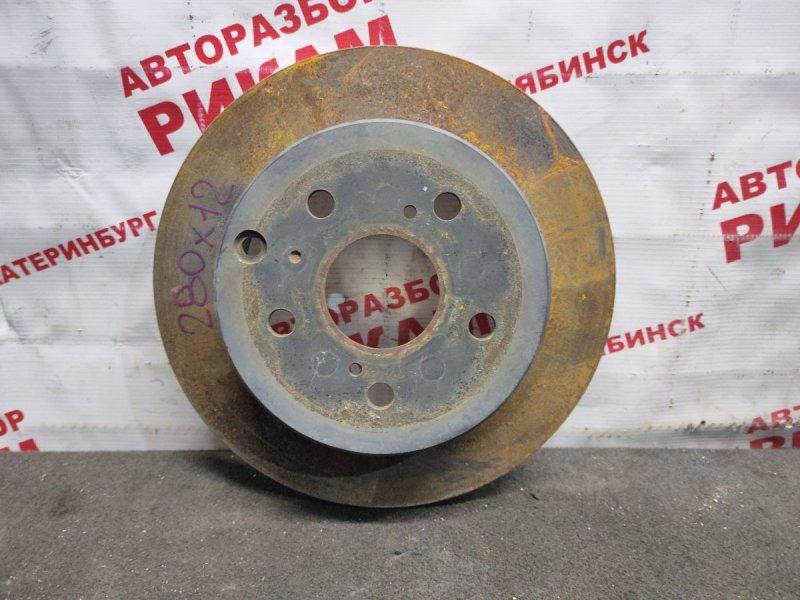 Диск тормозной Toyota Rav4 ACA31 2AZ-FE 2006 задний