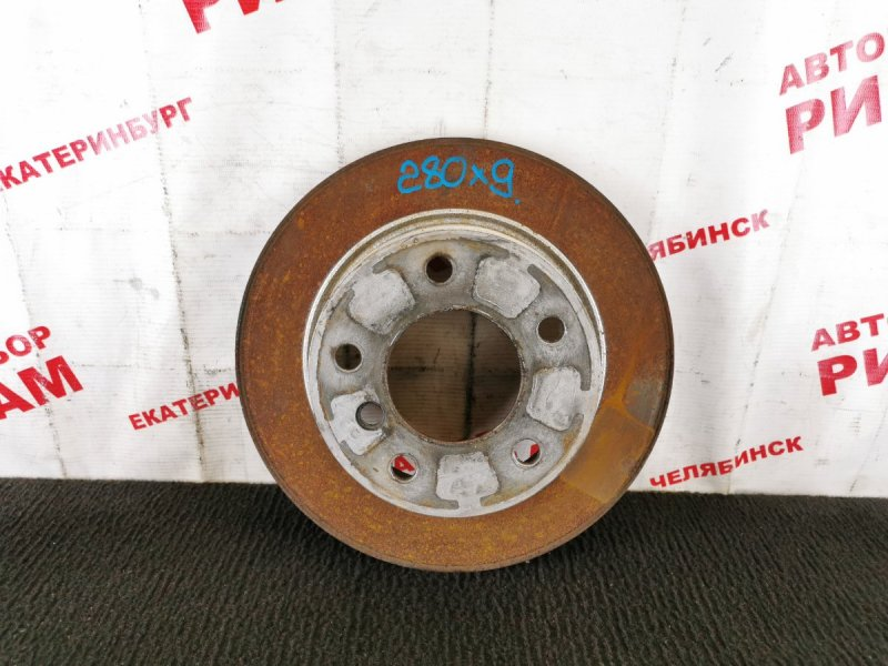 Диск тормозной Bmw 1-Series E87 N45B16 2005 задний