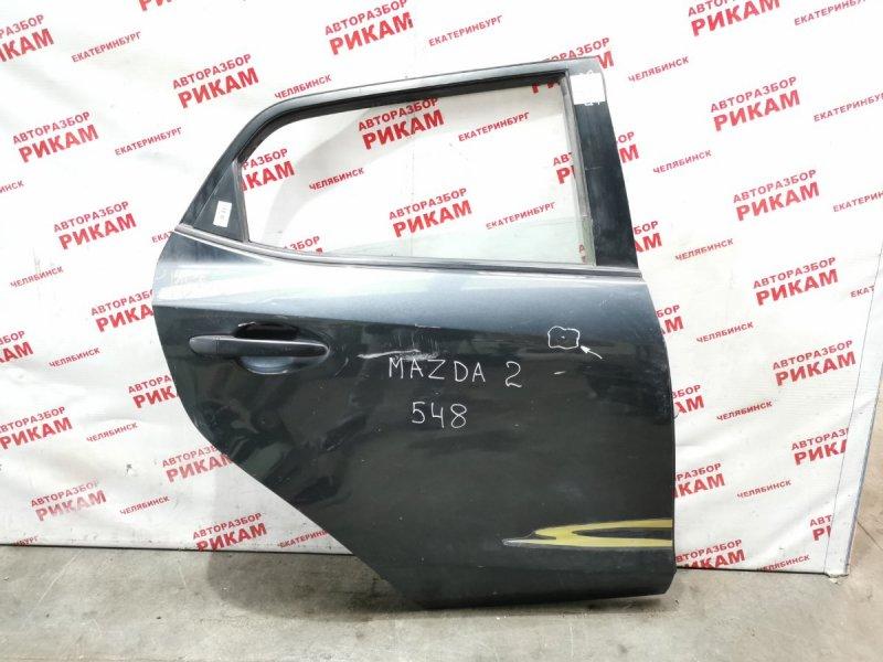 Дверь Mazda 2 DE1 ZY 2009 задняя правая