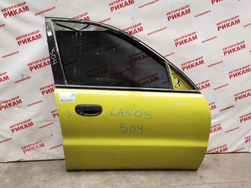 Дверь Chevrolet Lanos передняя правая