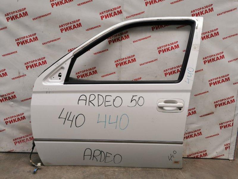 Дверь Toyota Vista Ardeo SV50 передняя левая