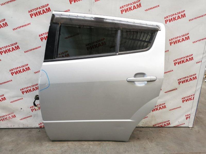 Дверь Toyota Will Vs ZZE127 1ZZ-FE задняя левая