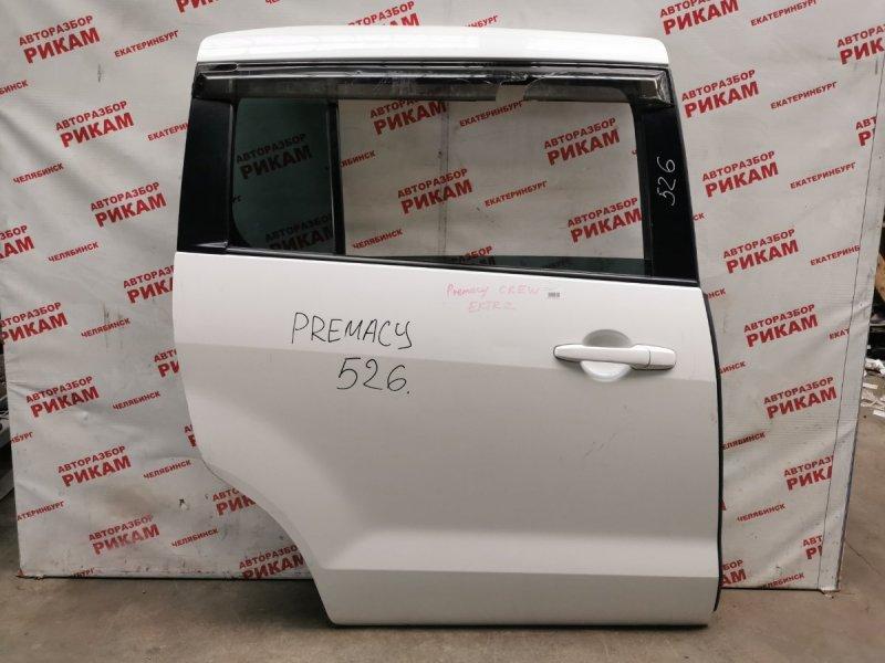 Дверь Mazda Premacy CREW задняя правая