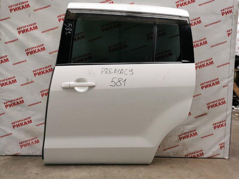 Дверь Mazda Premacy CREW задняя левая