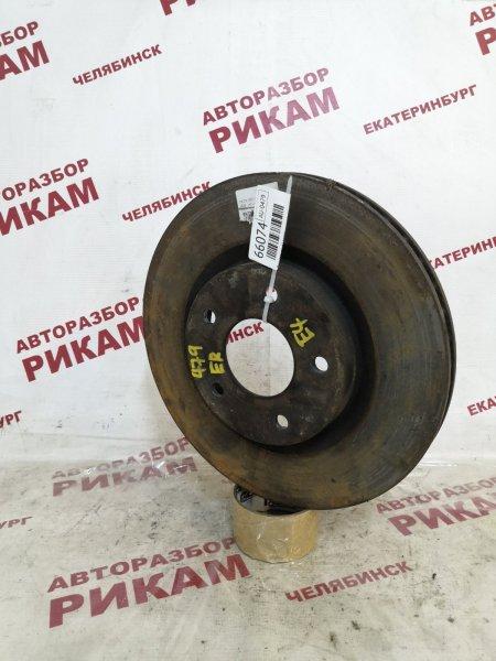 Диск тормозной Nissan Qashqai +2 J10 MR20DE 2010 передний