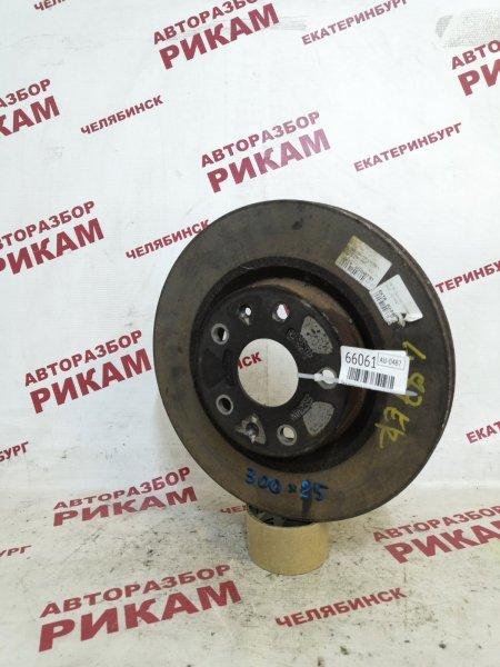 Диск тормозной Chery Tiggo T11 DB SQR484F 2010 передний