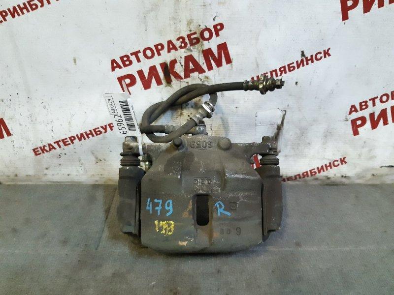 Суппорт тормозной Nissan Qashqai +2 J10 MR20DE 2010 передний правый