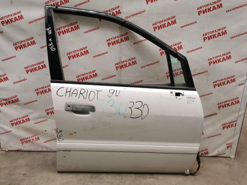 Дверь Mitsubishi Chariot N94W передняя правая