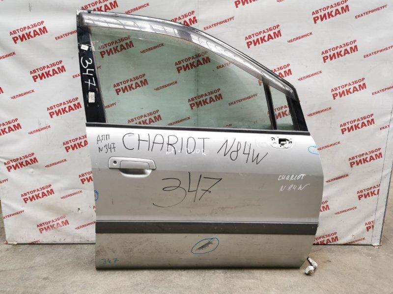 Дверь Mitsubishi Chariot N84W передняя правая