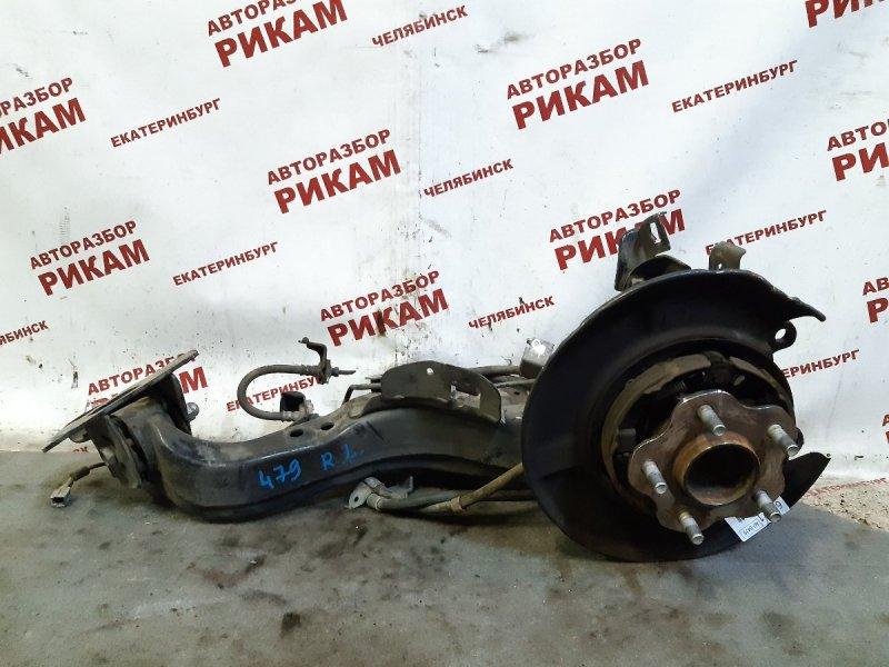 Ступица Nissan Qashqai +2 J10 MR20DE 2010 задняя левая