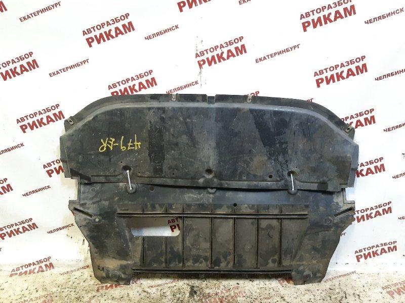 Защита двигателя Nissan Qashqai +2 J10 MR20DE 2010