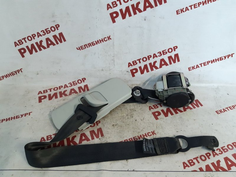 Ремень безопасности Nissan Qashqai +2 J10 MR20DE 2010 передний левый