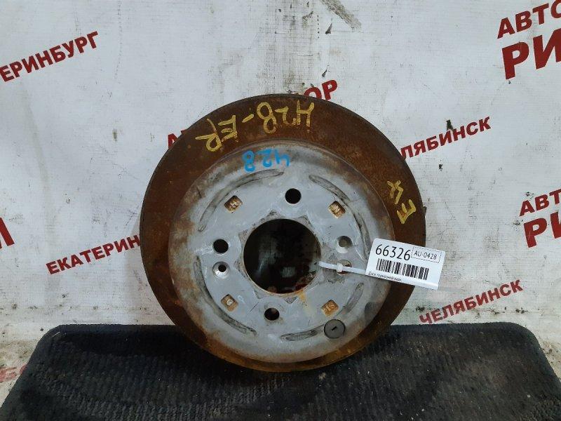 Диск тормозной Hyundai Getz TB G4ED 2008 задний