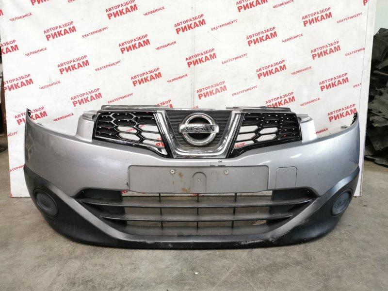 Бампер Nissan Qashqai +2 J10 MR20DE 2010 передний