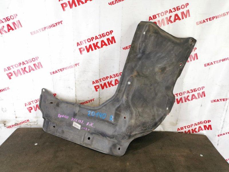 Защита двигателя Toyota Corolla Spacio NZE121 правая
