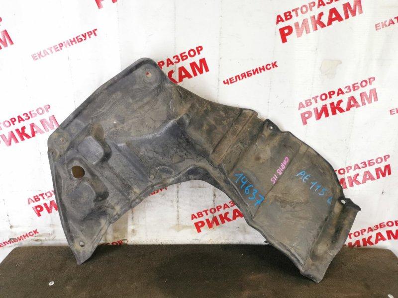 Защита двигателя Toyota Sprinter Carib AE115 левая