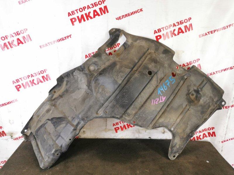 Защита двигателя Toyota Corona Premio AT210 правая