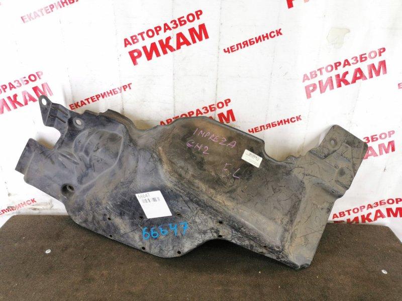 Защита двигателя Subaru Impreza GH2 левая