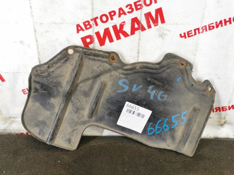 Защита двигателя Toyota Camry SV40 левая