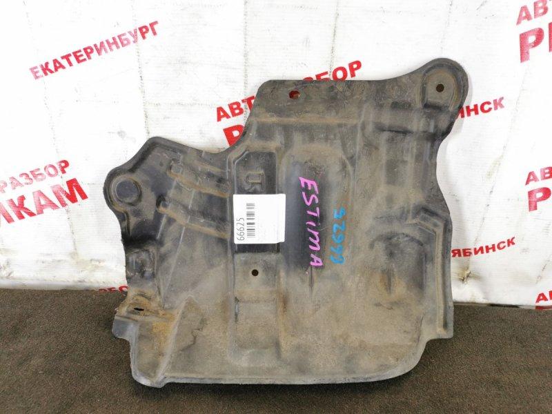 Защита двигателя Nissan March AK12 правая