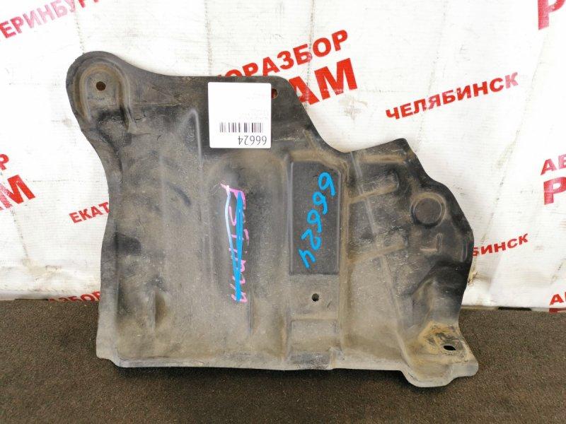 Защита двигателя Nissan March AK12 левая
