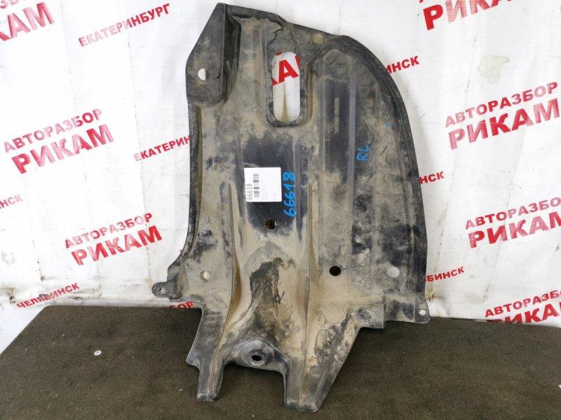 Защита под бампер Toyota Avensis AZT250 задняя левая