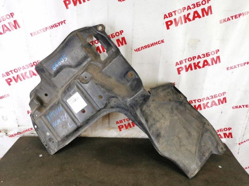 Защита двигателя Toyota Ipsum ACM20 левая