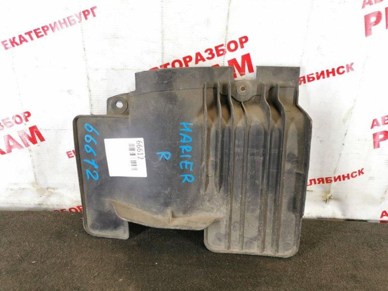 Защита двигателя Toyota Harrier MCU10 правая