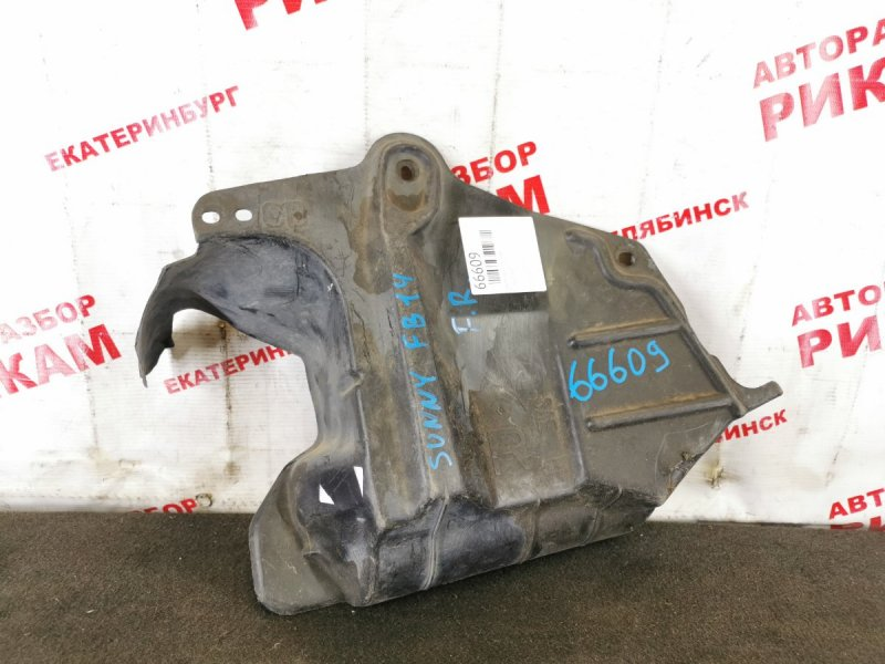 Защита двигателя Nissan Sunny FB14 правая