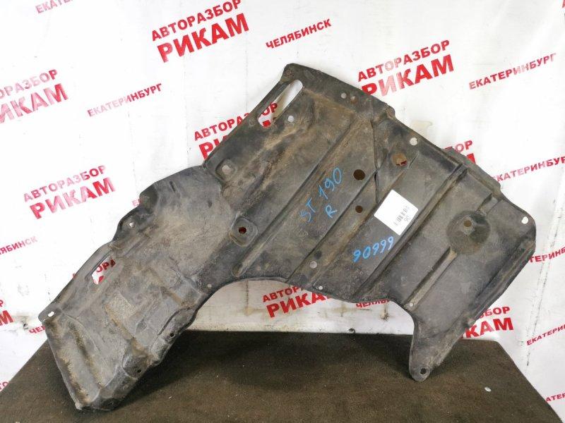 Защита двигателя Toyota Carina ST190 правая