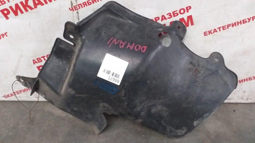Защита двигателя Honda Domani левая