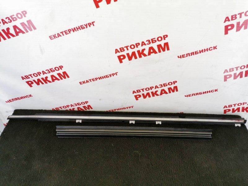 Молдинг двери Mitsubishi Galant Fortis CY3W 4B10 2010 задний левый