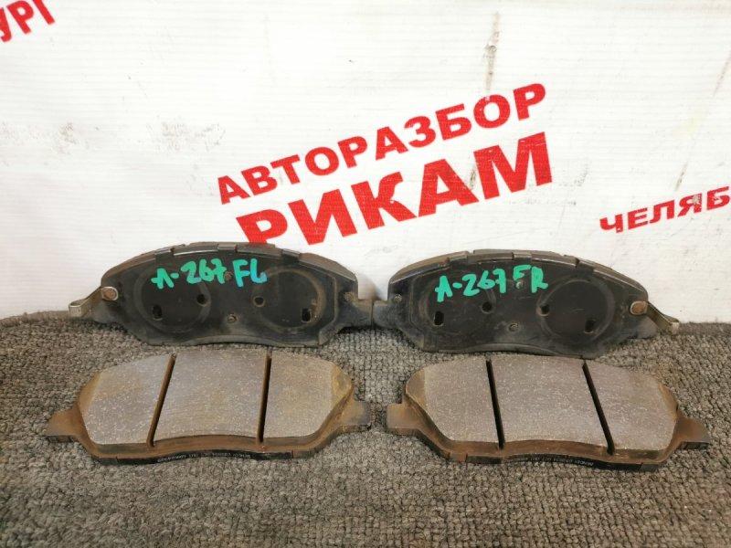 Колодки тормозные Ssangyong Korando CK G20T-051 2013 передние