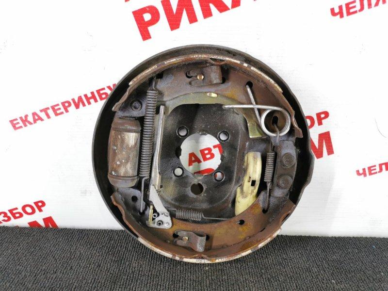 Щит тормозной Citroen C3 задний левый