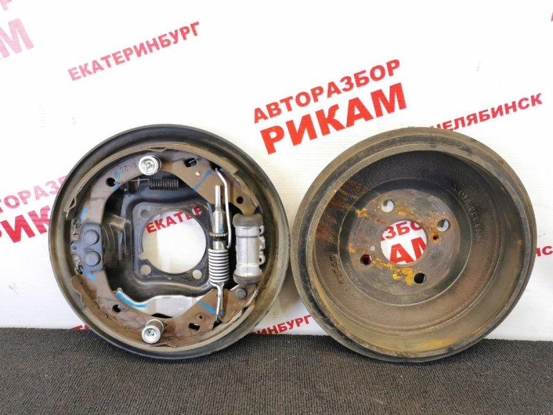 Щит тормозной Toyota Probox NCP50 2NZ-FE 2006 задний левый