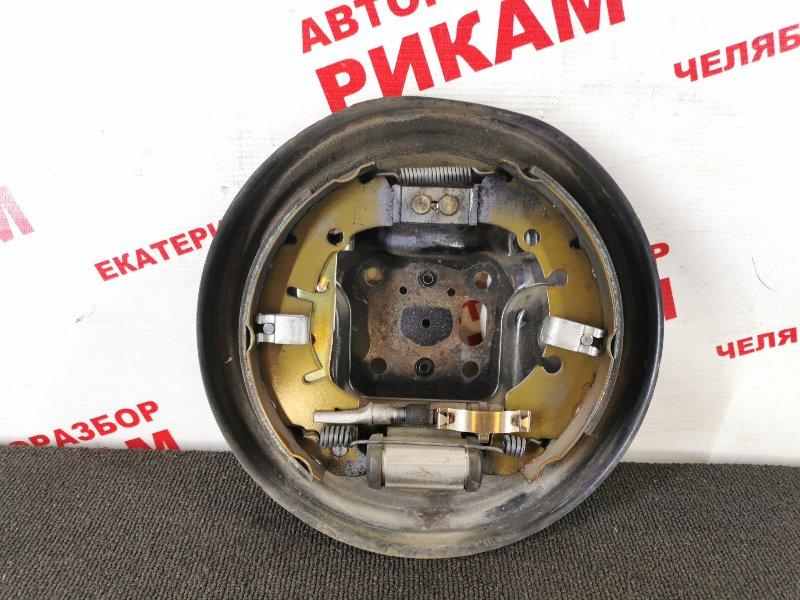 Щит тормозной Mazda Demio DY3W ZJ-VE задний левый