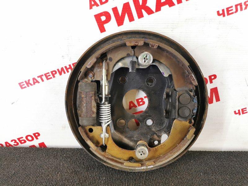 Щит тормозной Nissan Primera P11 задний левый