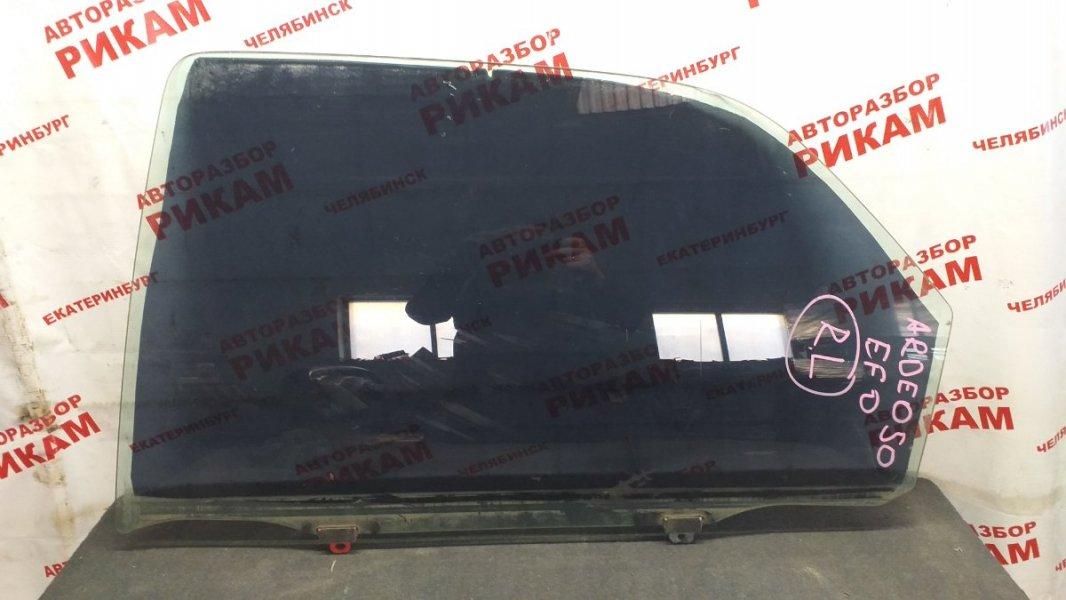 Стекло двери Toyota Vista Ardeo SV50 заднее левое