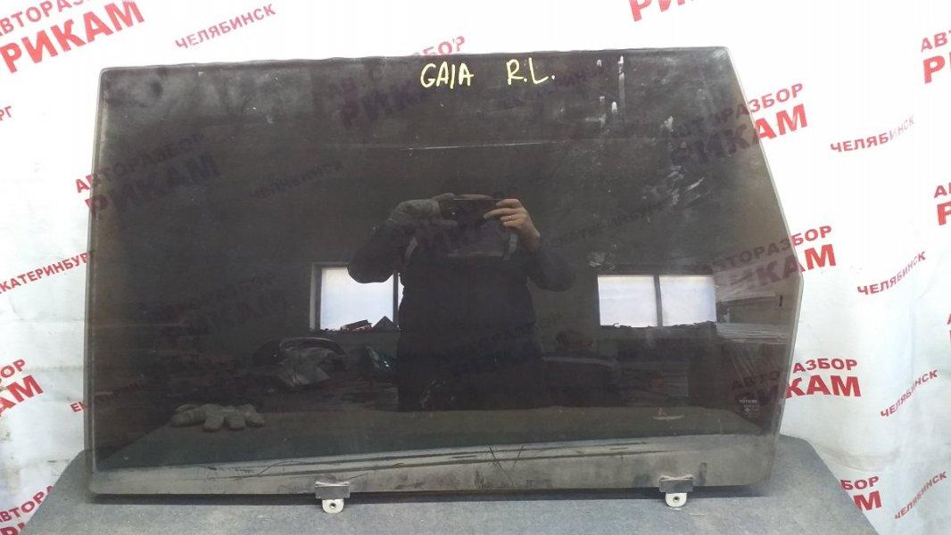 Стекло двери Toyota Gaia SXM10 заднее левое
