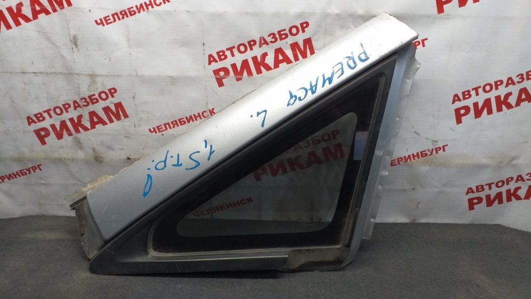 Стекло боковое Mazda Premacy CP8W переднее левое