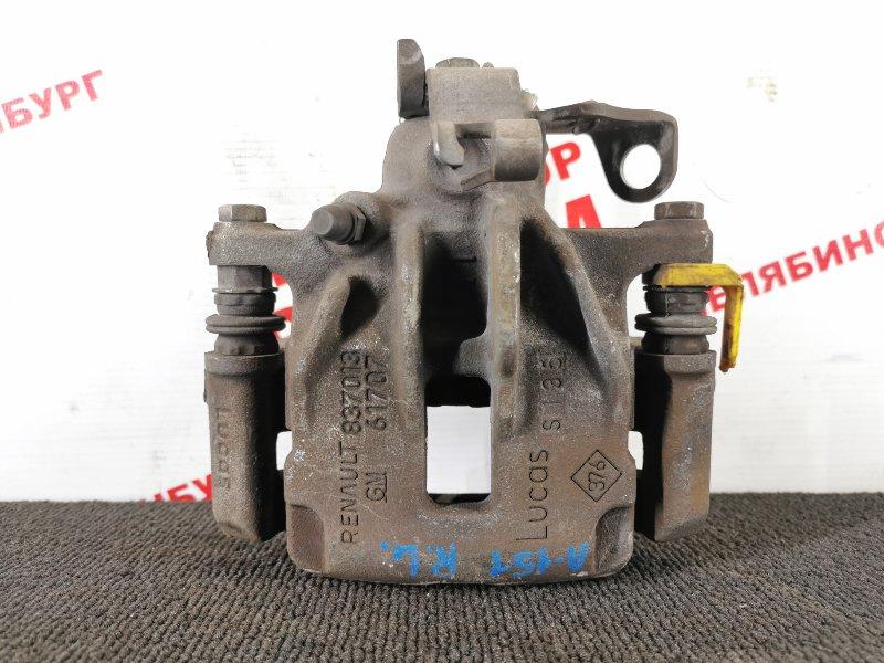 Суппорт тормозной Renault Trafic JL M9RM786 2014 задний левый