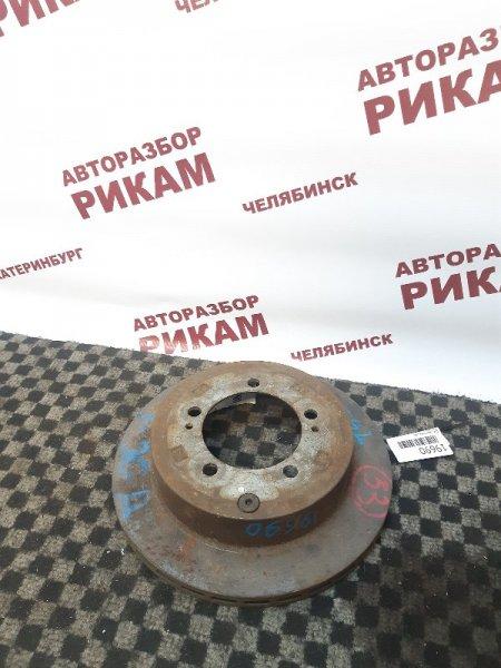 Диск тормозной Mitsubishi Diamante F31A задний