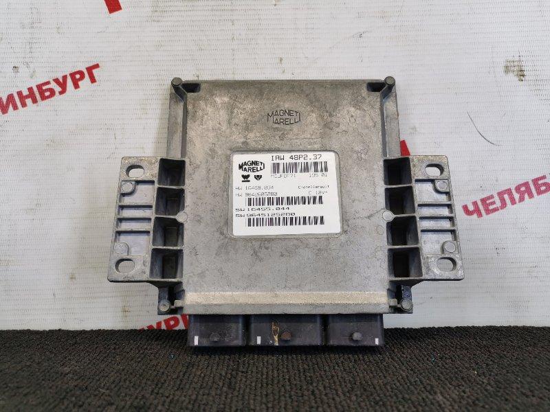 Блок управления Peugeot 307 3A/C EW10J4 2001