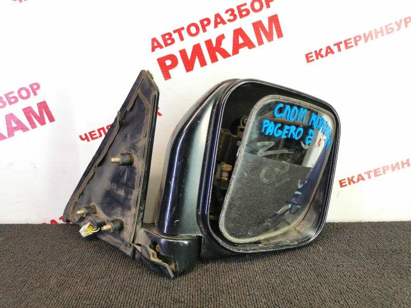 Зеркало Mitsubishi Pajero правое