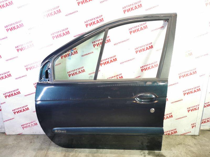 Дверь Renault Scenic JA13 F4R747 2003 передняя левая