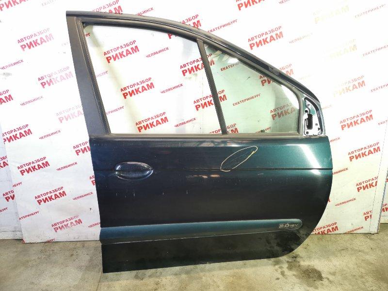 Дверь Renault Scenic JA13 F4R747 2003 передняя правая