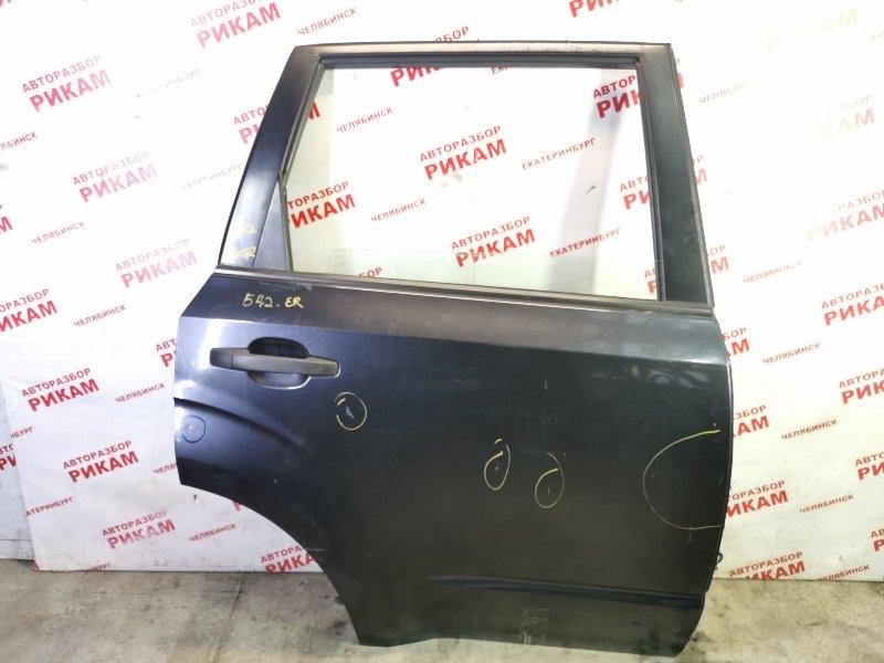 Дверь Subaru Forester SHM FB25A 2012 задняя правая